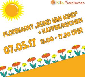 Flohmarkt am 07.05.2017 von 15:00 Uhr bis 17:30 Uhr